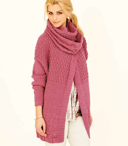 Ladies Jacket and Snood in Rico Essential Merino DK - 256 - Downloadable PDF