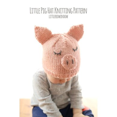 997045da6fa Little Pig Hat.  5.00. off. Downloadable pattern. By Cassandra May