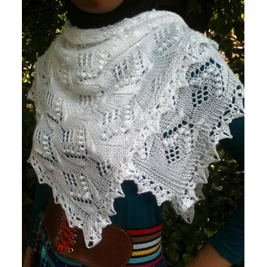 Butterfly Square Shawl Knitting pattern by Dian Paramita