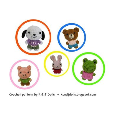 Animal Friends Amigurumi crochet pattern