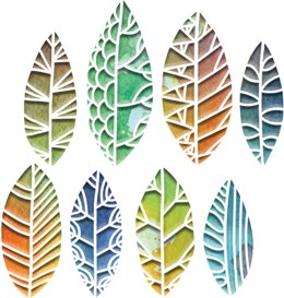 Sizzix Thinlits Dies By Tim Holtz - Cut-Out Leaves