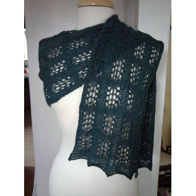 Forest Canopy Lace Scarf