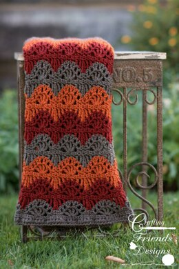 Ripple Lace Afghan