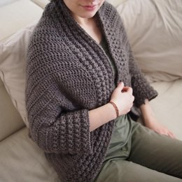 Heartland shrug sweater