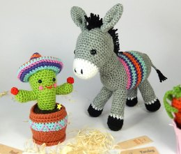 Dante the Donkey & Carlos the Cactus