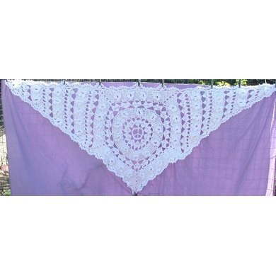 Hippie Wedding Shawl