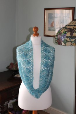 Mermaid Infinity Scarf
