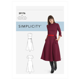 Simplicity Misses' & Women's Dresses S9176 - Sewing Pattern