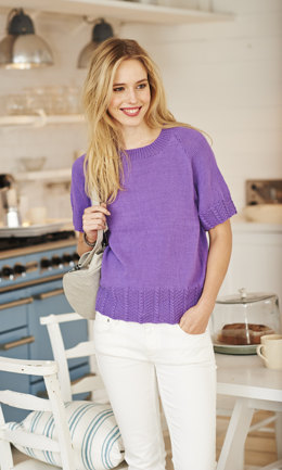 Tee & Cardigan in Stylecraft Classique Cotton 4 Ply - 9369 - Leaflet