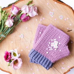 Line Up!  Mollie Mitts (with fleece lining)