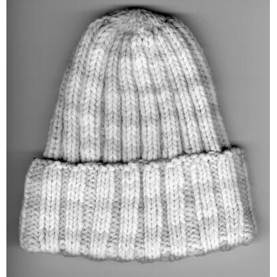 Ribbed Baby Hat In Plymouth Yarn Dreambaby 4 Ply F006 border=