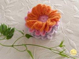 Crochet Flower Gerbera