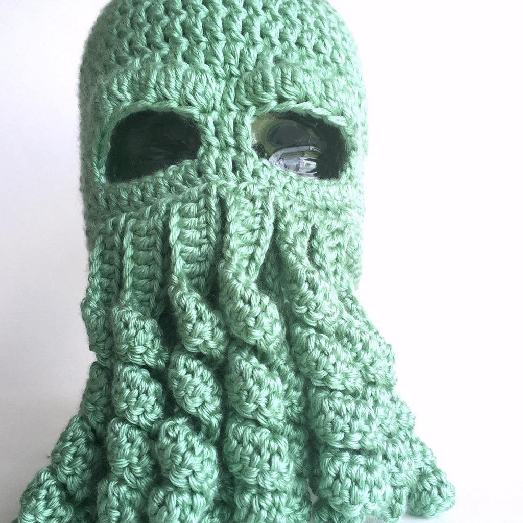 Cthulhu hat crochet pattern by lara from level up nerd apparel zoom bankloansurffo Choice Image