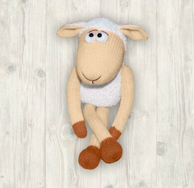 Sheep Knitting Pattern (an extremely soft, huggable and cute toy)