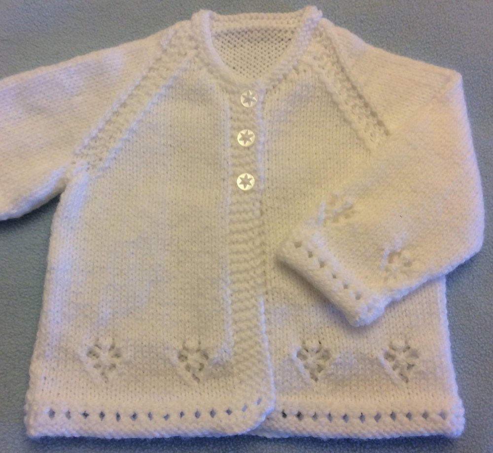 Arrowhead Jacket & Toque - 0 to 3 months in King Cole Comfort DK Knitting...
