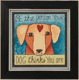 Mill Hill Be the Person Cross Stitch Kit - 7in x 7in