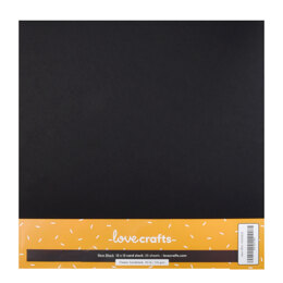 """LoveCrafts Classic Cardstock 80lb 12"""" x 12"""" 25 Pack"""