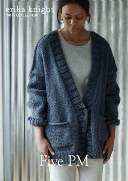 Five PM Sweater in Erika Knight Maxi Wool