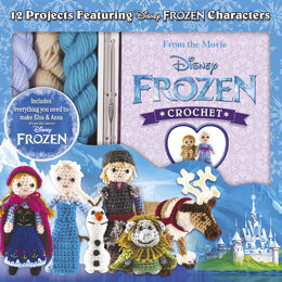GMC Disney Frozen Crochet Kit - Multi