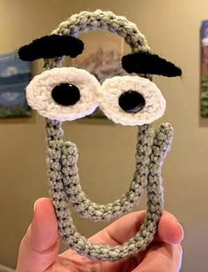 Clippy the Office Assistant Amigurumi