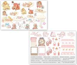 Dress My Craft Image Sheet 240gsm A4 2/Pkg - Charming Baby Girl