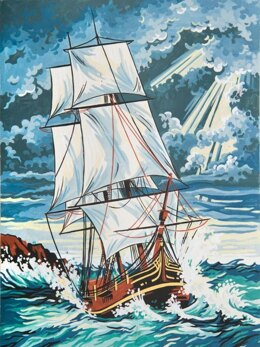 Grafitec Stormy Seas Tapestry Canvas