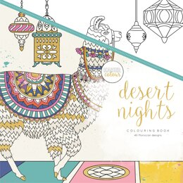 "Kaisercraft KaiserColour Perfect Bound Coloring Book 9.75""X9.75"" - Desert Nights"