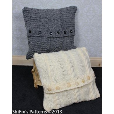 268 Cushions Knitting Pattern 268 Knitting Pattern By Shifios