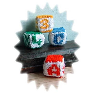 1:12th scale alphabet blocks