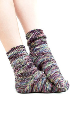 Ranco Socks in Araucania Ranco multi