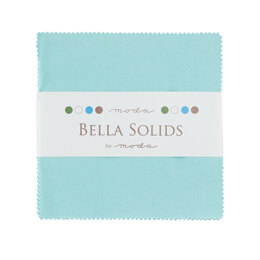 Moda Fabrics Bella Solids 5in Charm - Robin's Egg Blue