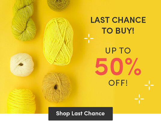 Last chance to buy! Up to 50 percent off!