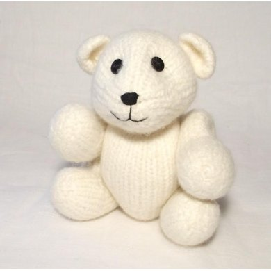 Felt Polar Bear Knitting Pattern By Claire Fairall Knitting
