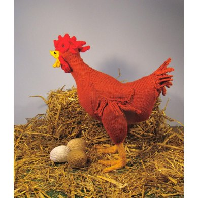 Hattie Hen Toy Chicken & Eggs
