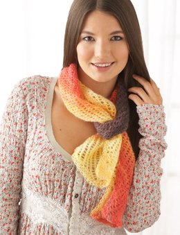All About You Scarf in Patons Lace