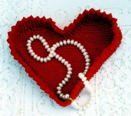 Country Heart Basket