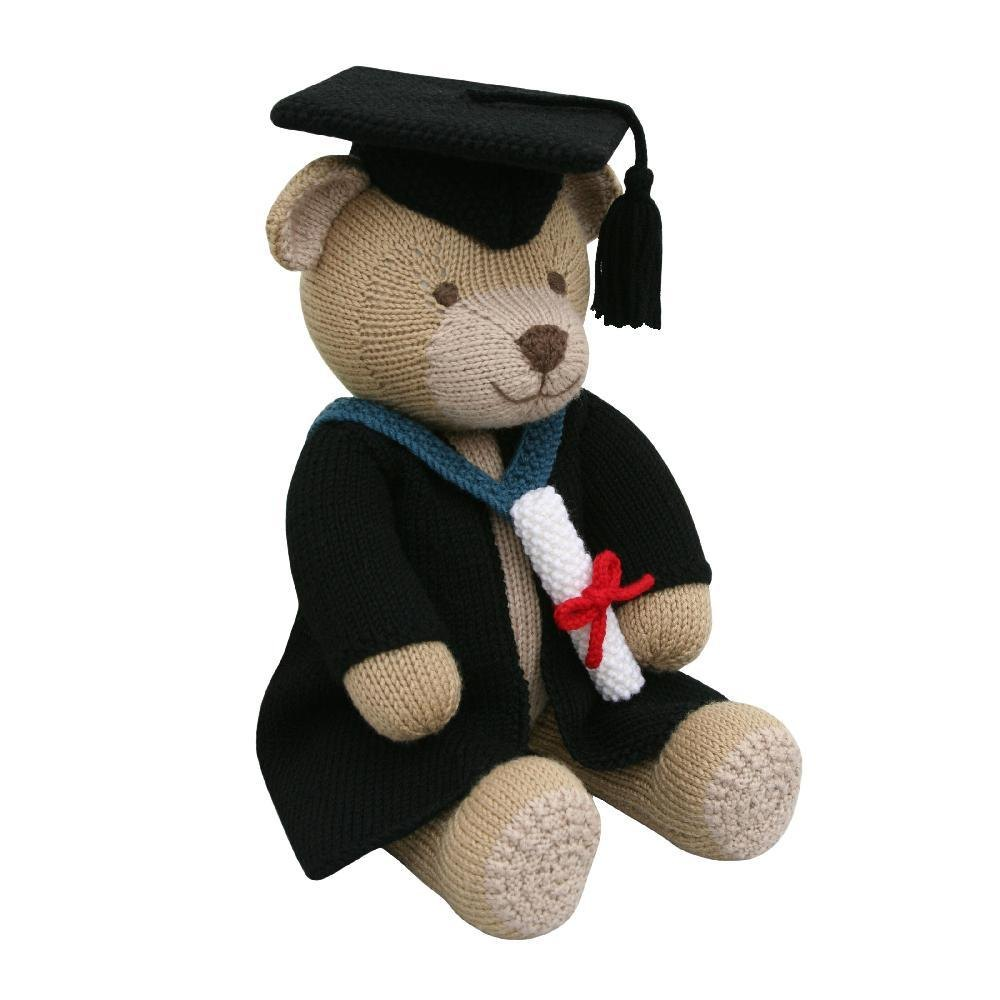 Graduation Gown (Knit a Teddy) Knitting pattern by Knitables