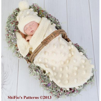 Bobble Cocoon Baby Knitting Pattern #128 Knitting pattern by ...