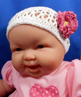 Lace-work Baby Cloche