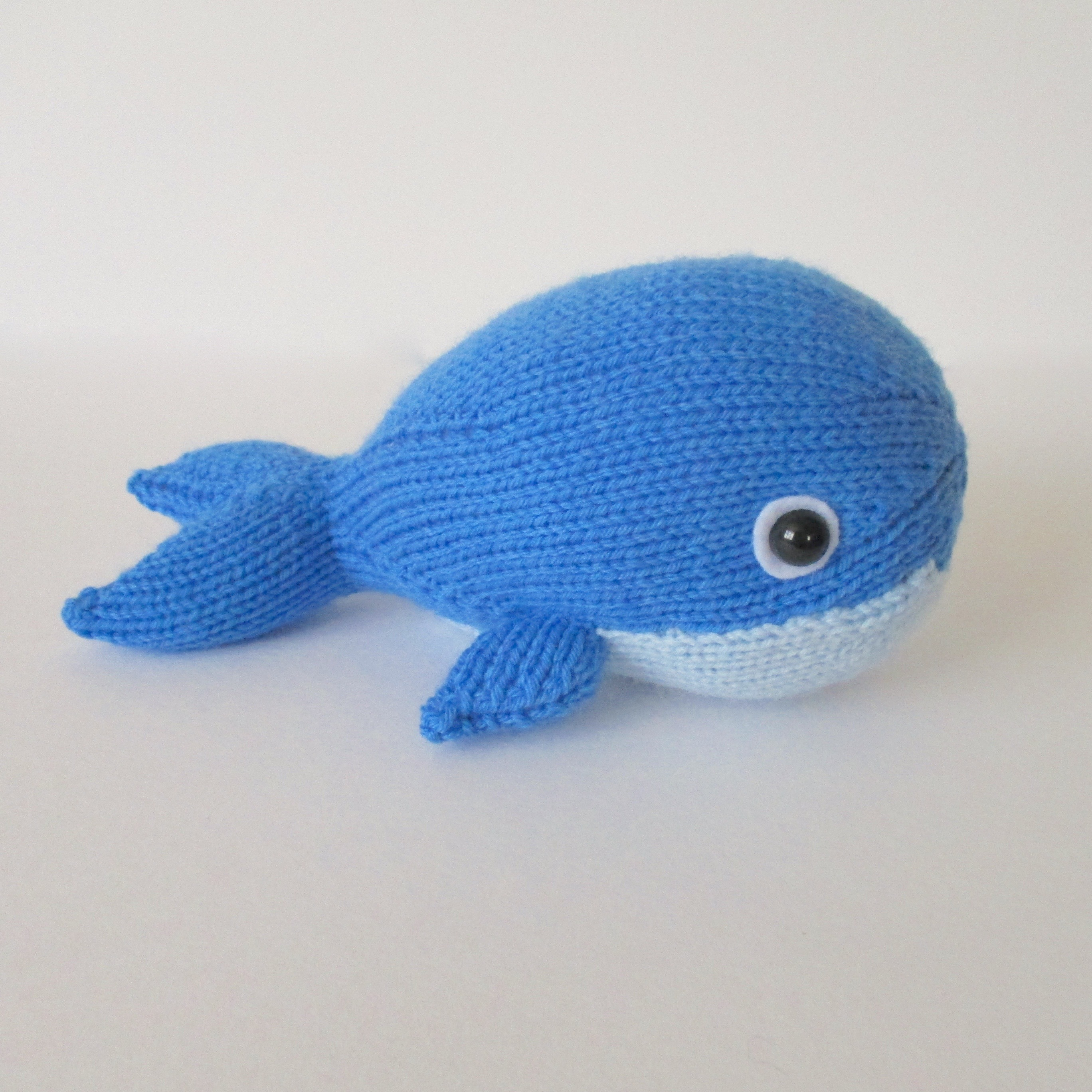 bob the blue whale knitting project by amanda berry. Black Bedroom Furniture Sets. Home Design Ideas