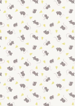 Lewis & Irene Small Things…Country Creatures Mice Cream Cut to Length