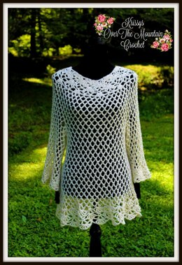 Extended Lace Over Brook Tunic
