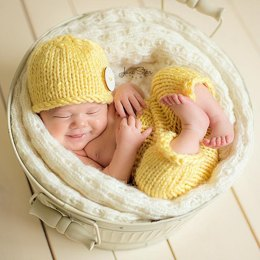 Sunshine Baby Hat and Pants