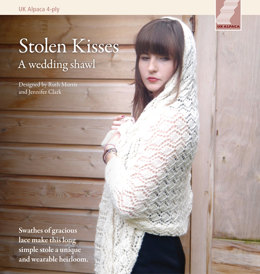 Stolen Kisses in UK Alpaca Baby Alpaca Silk 4 Ply