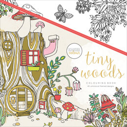 "Kaisercraft KaiserColour Perfect Bound Coloring Book 9.75""X9.75"" - Tiny Woods"