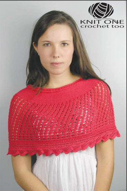 Fiesta Capelet by Knit One Crochet Too Pediwick - 2002 - Downloadable PDF