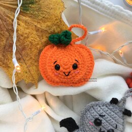 Flat Halloween Pumpkin Toy