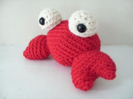 Amigurumi Tipper the Tiny Crab