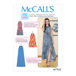 McCall's Misses' Dresses M7943 - Sewing Pattern