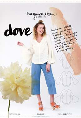 Megan Nielsen Dove Top MN2105 - Sewing Pattern
